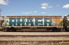 RHAER (The Braindead) Tags: art minnesota train bench photography graffiti painted tracks minneapolis rail explore beyond the
