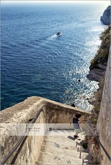 Descending the Stairs of Aragon | Bonifacio, Corsica (Stefan Cioata) Tags: travel vacation holiday tourism beautiful photography marketing europe view image sale exploring details great joy visit explore most getty sight lovely top10 iconic available advertise touristical flickrandroidapp:filter=none