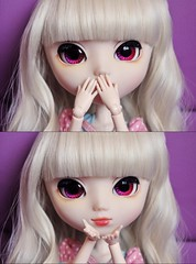 Eileen (Kristter.) Tags: pink cute love girl japan outfit big spain eyes nikon doll dolls eyelashes dress chips clothes planning kawaii groove pullip lovely custom eileen pullips jun coolcat d60 sbh obitsu rewigged stica rechipped pullipscom obitsu27 kristter obitsued