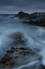 Prehistoric (mike_vieira213) Tags: california longexposure sunset seascape nikon foggy montanadeoro centralcoast westcoast 18105 d7000 mikevieira