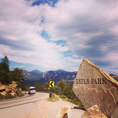 Estes Park, Colorado (courtneyureelmowry) Tags: park mountains colorado august co rockymountains estespark estes rockymountainnationalpark 2013 uploaded:by=flickrmobile flickriosapp:filter=nofilter