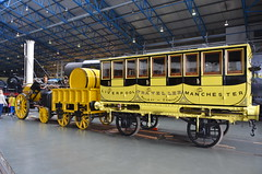 York - National Railway Museum Stephenson's Rocket Replica Great Hall 2 (Le Monde1) Tags: york robert train hall nikon steam railways nrm nationalrailwaymuseum locomotives gwr lms lner stephensonsrocket georgestephenson d7000 lemonde1 stephensonreplicagreat