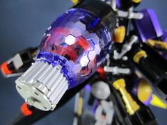 Orbital Frame Nekhbet (Messymaru) Tags: original robot purple lego mecha mech moc nekhbet messymaru