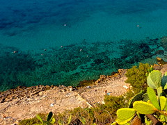 Cliff in Greece (livis.) Tags: hot beach nature water coral cacti sand greece amazingview