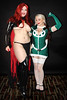 Goblin Queen and Rogue (greyloch) Tags: costumes friends sexy topf25 pretty cosplay rogue dragoncon bellechere comicbookcharacter goblinqueen 2013 hotlooking comicbookcostume