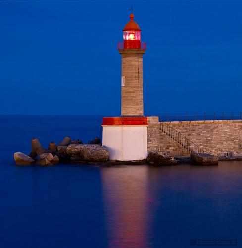 Lighthouse of Bastia, Corsica