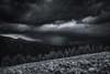 Hard Rain (Silent G Photography) Tags: travel blackandwhite storm monochrome landscape nikon colorado adobe nik thunderstorm rockymountains aspen reallyrightstuff rrs mtsopris 2013 nikond800 richmondridge bh55lr markgvazdinskas silentgphotography tvc33 silentgphoto