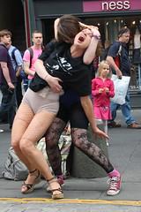 Edinburgh Fringe 2013: Am I? (chairmanblueslovakia) Tags: street city stockings festival scotland dance am high edinburgh theatre capital ripped arts royal scottish fringe worlds heels joanna lcp mile largest 2013 i trafficked puchala