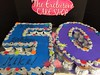 "50th Birthday Cupcake Cake • <a style=""font-size:0.8em;"" href=""http://www.flickr.com/photos/40146061@N06/10460955885/"" target=""_blank"">View on Flickr</a>"