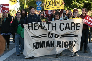 Healthcare Justice March - October 26, 2013