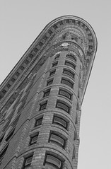 nycd000115.jpg (Keith Levit) Tags: city nyc newyorkcity urban detail building architecture buildings exterior manhattan details cities landmark facades architectural lookingup shape flatironbuilding metropolitan offices exteriors faade