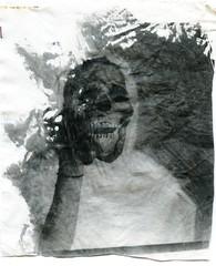 black magic on canvas (Max Miedinger) Tags: 2 bw rollei watercolor paper portait canvas liquid bianconero biancoenero liquida emulsion blackmagic liquidemulsion meopta selfdevelop emulsione opemus