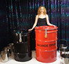 The Ultimate Drum Escape! (Dayle Krall:Most Accomplished Female Escape Artist) Tags: houdini waterescape richardsherry daylekrall femaleescapeartist femaleescapologist ladyhoudini sherryandkrallmagic drumescape