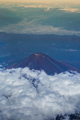 mount.fuji (kapuk dodds) Tags: travel sky mountain bird japan fuji view mount destination attraction