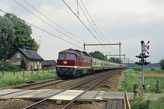 1993.05.21_3918_Teuge_DB 234 440-6 [EXPLORED] (rcbrug) Tags: explore 90 87 teuge int 89 84 ludmilla hoekvanholland laatste nvbs 2344 internationaletrein 2344406