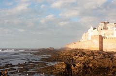 Essaouira sea walls (Jelle Drok) Tags: city sea coast atlantic unesco morocco maroc creativecommons middleages essaouira marokko remparts mogador atlantique kingdomofheaven mogadore mogadur jelledrok