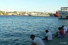 Севастополь, рыбаки