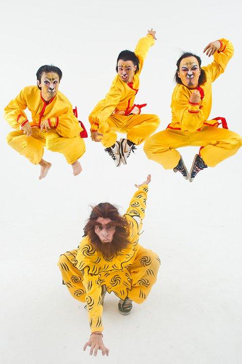 20110626 -猴崽定妝