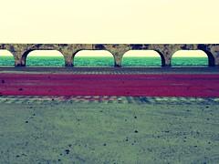 Sea (FernandaCavalcanti) Tags: sunset sea sun verde sol vintage mar nikon orla natureza cu prdosol nuvens pe northeast arco pernambuco horizonte ondas paisagens olinda oceano nordeste olindape pistadeciclismo nikond3100 brasilemimagens orladeolinda eucurtoonordeste eucurtopernambuco eucurtoolinda