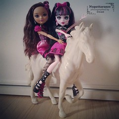 monster high (aoonjijung) Tags: horse monster high doll after ever