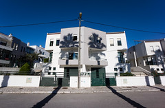 'Au Pair' (Canadapt) Tags: street shadow two house building tree portugal twins apartment duo pair loures canadapt