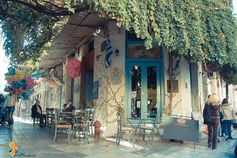 Monastiraki, em Atenas