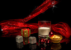 Santa's Treats... (P1ay) Tags: light red wallpaper blackandwhite white lightpainting reflection london yellow canon airplane photography blackwhite with explore photograph startrails mincepie stockimages mincepies christmaspresents redcherry redcloth backgroundimage christmaswallpaper glassofmilk backgroundwallpaper colourblack canon60d christmasmincepies santastreat reflectionoflight santastreats imagesblack airplanestock compcorner p1ay lightpaintinginlondon colorlightrooms flickr12days fatherchristmastreats fatherchristmastreat glassofmilkforsanta santaslittletreats christmasbackgroundimage