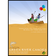 Canoeing with children ( Steven House www.houselightgallery.com) Tags: trip vacation sculpture house poster year canoe 2013 stevenhouse houselightgallery greenrivercanoes