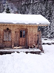Mooie houten chalet frankrijk (Donald Timmerman) Tags: vakantie skies sneeuw chalet frankrijk vis huisje piste morzine skie forel