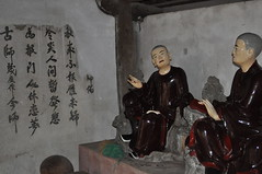 DSC_0293 (claudia.schillinger) Tags: chuathay vietnam pagoda monk mönch figuren schriftzeichen chinese