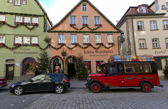 Rothenburg's most famous store, Kthe Wohlfahrt's Christmas Village (SteveProsser) Tags: rothenburg kthewohlfahrt weihnachtsdorf deutschesweihnachtsmuseum