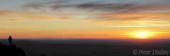 Sunset from Mow Cop (Peter J Bailey) Tags: sunset sun wales shropshire cheshire border pillar hills views cop mow welsh setting across staffordshire breidden peterjbailey rodney's
