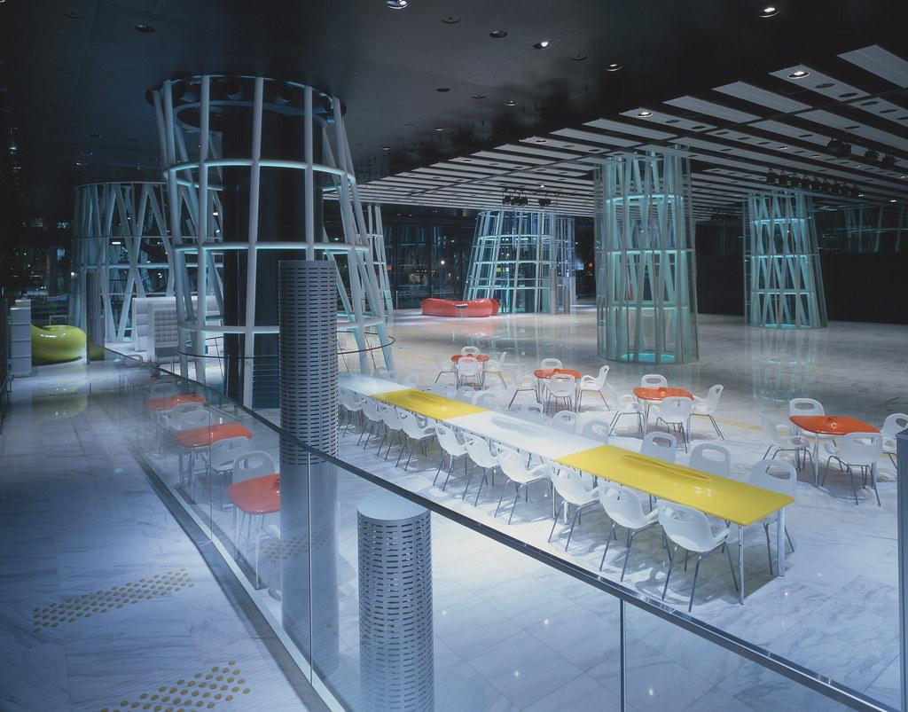Designer Regal Sendai Crystal Toyo Ito