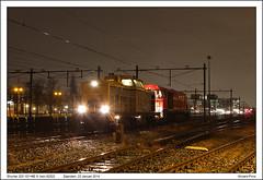 Shunter 203 101+NE 9 - Zaandam - 92522 (23-01-2014) (Vincent-Prins) Tags: v100 zaandam shunter g2000 203101 ne9 neussereisenbahn 92522