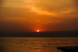 Sonnenuntergang am Toten Meer - Sunset at Dead Sea ~ Explore
