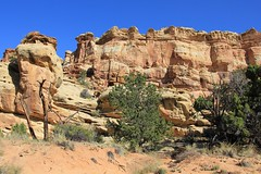 Frying Pan Trail views, Capitol Reef National Park (fly flipper) Tags: arch capitolreefnationalpark cassidyarch fryingpantrail hikingutah cassidyarchtrail cohabtrail