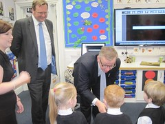 "Stephen Mosley MP joins Michael Gove on visit to St Martins Academy, Hoole • <a style=""font-size:0.8em;"" href=""http://www.flickr.com/photos/51035458@N07/12292019533/"" target=""_blank"">View on Flickr</a>"