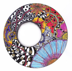 Zendala (photojig) Tags: art drawing doodle doodles zentangle zentangles zendoodles zendoodle