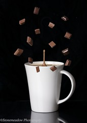 hot chocolate (www.stonemeadow.com.au) Tags: food brown white black color cooking cup closeup milk healthy warm flavor bright drink sweet chocolate background beverage cook tasty hotchocolate mug sweets cocoa isolated nutrition ingredient ef28135mmf3556isusm