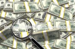 Pile of Dollars (www.pond5.com/artist/vitanovski) Tags: magnifyingglass business dollar backgrounds benjaminfranklin affectionate investment banking wealth finance debt dollarsign number100 onehundreddollarbills uscurrency onehu
