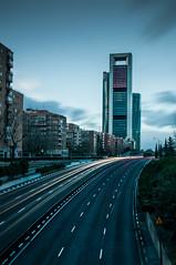 Chamartín (Sergio Sánchez Pérez) Tags: madrid sergio calle towers sanchez torres perez chamartin