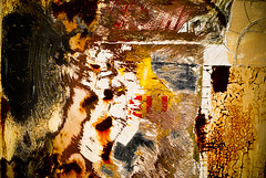 Scatched itch (hutchphotography2020) Tags: abstract texture metal rust rustic rusty oxidation weathered corrosion peeled httphutchphotography2020wordpresscom