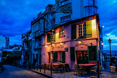 La Maison Rose (davecurry8) Tags: paris france restaurant montmartre lamaisonrose