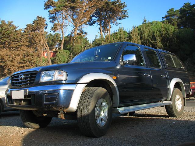 4x4 pickup mazda pickuptrucks camionetas doublecabin crewcab bseries b2500 mazdab