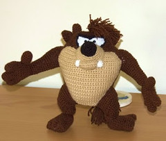Taz (cascadehandmade) Tags: toy stuffed crochet taz