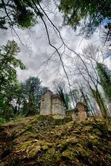 Ragged Castle (Matt Bigwood) Tags: house castle abandoned nikon angle wide gloucestershire badminton ultra hdr folly d800 14mm samyang raggedcastle oloneo hdrengine