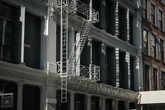 (onesevenone) Tags: city nyc newyorkcity light urban house ny newyork architecture stairs facade america unitedstates front gothamist eastcoast firestairs stefangeorgi onesevenone