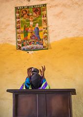 Borana pastor woman during sunday church service, Oromia, Yabelo, Ethiopia (Eric Lafforgue) Tags: adult africa african belief boran borana borena celebration ceremony christanity christian christianity church colourpicture day developingcountry devotion eastafrica ethiopia ethiopia0317087 ethiopian evangelist faith hornofafrica indoors mass oneperson onewomanonly oromia oromiya oromo oromya praying religion religious religiouscelebration spiritual spirituality traditionalculture vertical women worshipper yabello yabelo