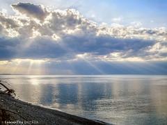 Beautiful Light at Chimney Bluffs (Samantha Decker) Tags: cny canonpowershota590is centralnewyork chimneybluffsstatepark lakeontario ny newyork samanthadecker upstate