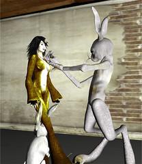 TerraMerhyem_Nightmare_BrynOh_02 (TerraMerhyem) Tags: monster monstre horror terramerhyem merhyem ghost fantome halloween terror terreur epouvante peur fear angoisse anxiety anxiete monstruosite cauchemar nightmare alptraum rabbit lapin lièvre